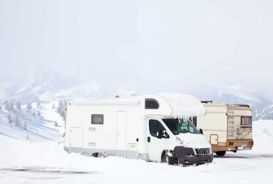 Przygotowanie kampera do zimy
